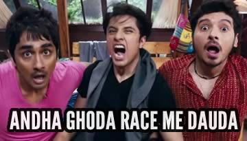 VIDEO: Andha Ghoda Race Mein Dauda - Chashme Baddoor