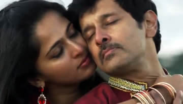 UYIRIN UYIRE song from Thaandavam (Lyrics & Video) | Vikram, Anushka