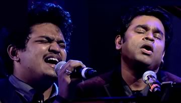 Phir Se Ud Chala - Arun HK, AR Rahman at MTV Unplugged Season 2