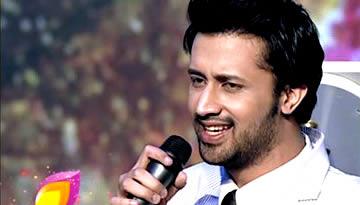 Atif Aslam at Sur Kshetra - Pehli nazar mein & Sajna tere bina Performance