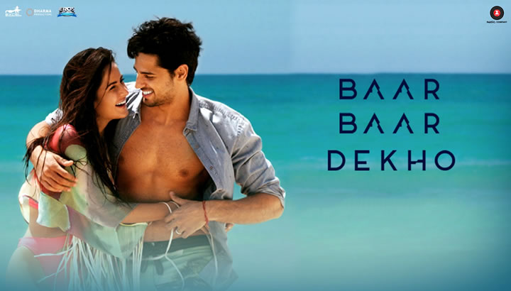 BAAR BAAR DEKHO - Movie Trailer - Sidharth Malhotra, Katrina Kaif
