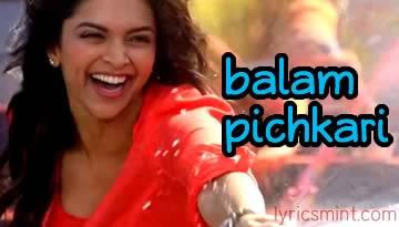 BALAM PICHKARI VIDEO - YJHD Song | Ranbir Kapoor, Deepika Padukone