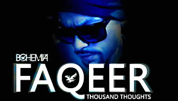 BOHEMIA FAQEER LYRICS & full SONG - new album Thousand Thoughts (2012)