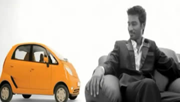 DHANUSH TATA NANO SONG - TV Commercial