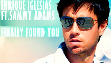 Finally Found You - Enrique Iglesias (Lyrics Video)