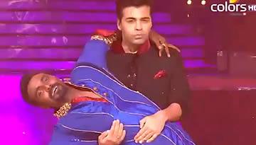 Karan Johar & Remo D'Souza Finale Performance - Jhalak Dikhla Jaa