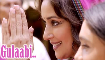 VIDEO: GULABI LYRICS (Gulab Gang Title Song) - Madhuri Dixit, Juhi Chawla
