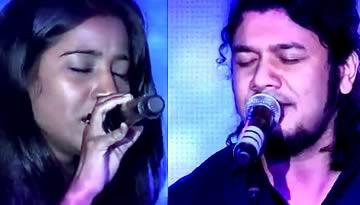 Mitti da Bawa & Ahista Aahista - Papon, Shilpa Rao Live at GiMA - 2012