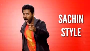 Prabhudeva's Sachin Style - Dhool Tucker