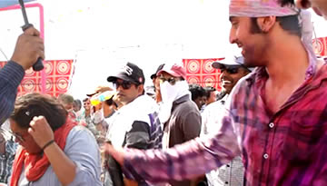 Balam Pichkari Making - Yeh Jawaani Hai Deewani Holi Song