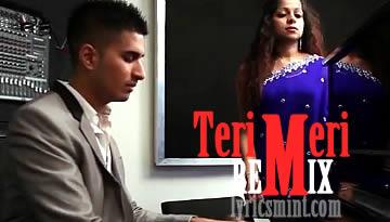 TERI MERI Remix (English) Lyrics | ARJUN feat. Priti Menon
