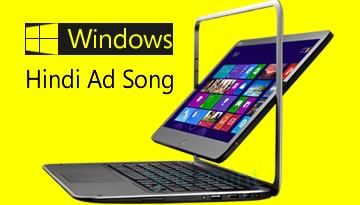 Kyu darta hai tu yaar Mujh pe Daav Laga - Windows 8 ad (Hindi Song)